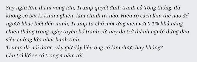 Donald Trump: Tôi luôn chiều theo ảo mộng của quần chúng - Ảnh 15.