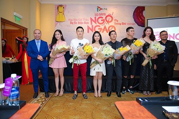 Hoài Lâm kết đôi cùng Ngọc Thanh Tâm trong phim chiếu Tết - Ảnh 1.