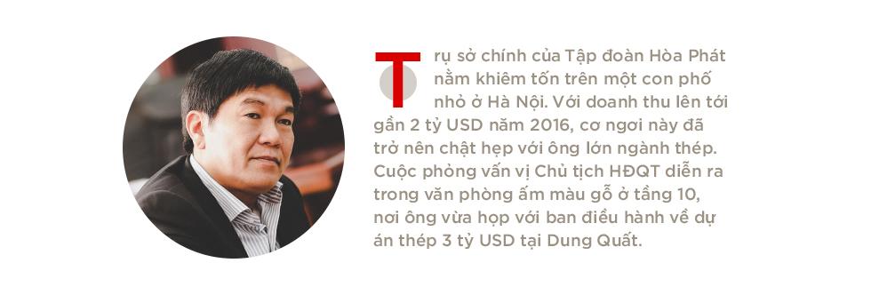 """Ông Trần Đình Long: """"Chúng tôi thành công như hôm nay vì không biến Hòa Phát thành một tập đoàn họ hàng"""" - Ảnh 1."""