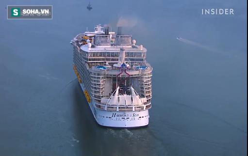 Bí mật hấp dẫn trên chiếc tàu thủy lớn nhất thế giới - Ảnh 1.