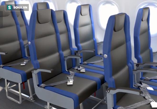 Thiết kế mới của ghế máy bay mang lại nhiều lợi ích bất ngờ - Ảnh 1.