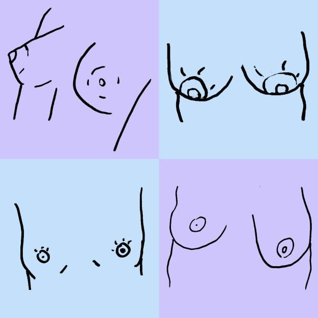 Tại sao bộ ngực chị em lại bên to bên nhỏ khiến 100% phụ nữ có bộ ngực lệch? - Ảnh 1.