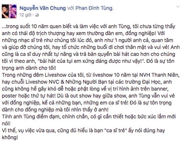 Vụ bắt nạt đàn em: Phan Đinh Tùng nếu không sai sao lại phải im lặng? - Ảnh 3.