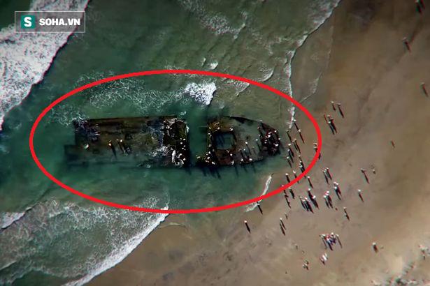 Bí ẩn con tàu ma trôi dạt vào bờ biển Mỹ, có thể đã bị chuột ăn thịt xâm chiếm - Ảnh 1.