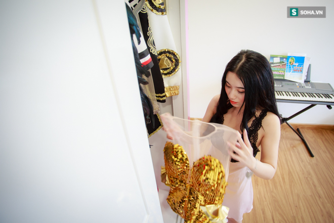 Nhà chung cư gần 4 tỷ ở Hà Nội của hot girl Linh Miu - Ảnh 14.