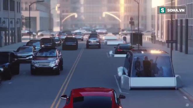 Elon Musk và cuộc cách mạng với hệ thống giao thông ngầm có vận tốc 200 km/h - Ảnh 1.