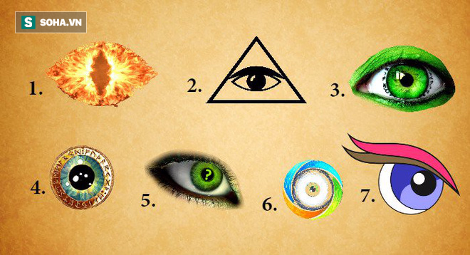 Khám phá bí mật của tiềm thức: Hãy chọn con mắt thu hút bạn nhất rồi xem kết quả - Ảnh 1.