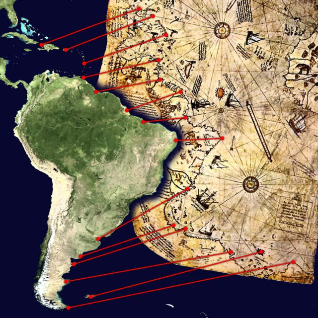 Bí ẩn bản đồ Piri Reis: Bằng chứng của một nền văn minh tiên tiến chưa từng có trên Trái Đất? - Ảnh 1.