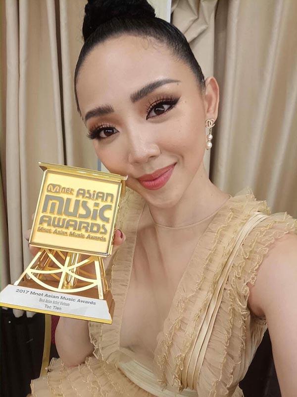 Tóc Tiên được vinh danh Nghệ sĩ châu Á xuất sắc nhất Việt Nam tại MAMA 2017 - Ảnh 2.