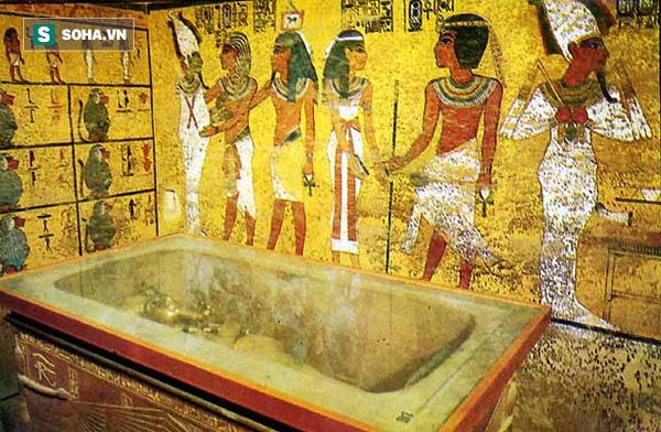 Phát hiện điều kỳ lạ trong quan tài bằng vàng ròng của Pharaoh Tutankhamen  - Ảnh 1.
