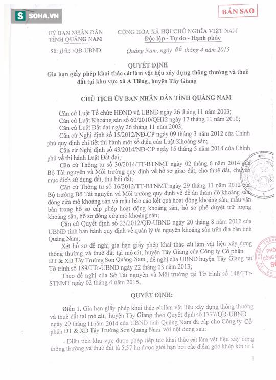 Nhà thầu khu đô thị Đa Phước: Nếu làm giả quyết định của tỉnh Quảng Nam, chúng tôi xin chịu trách nhiệm - Ảnh 2.