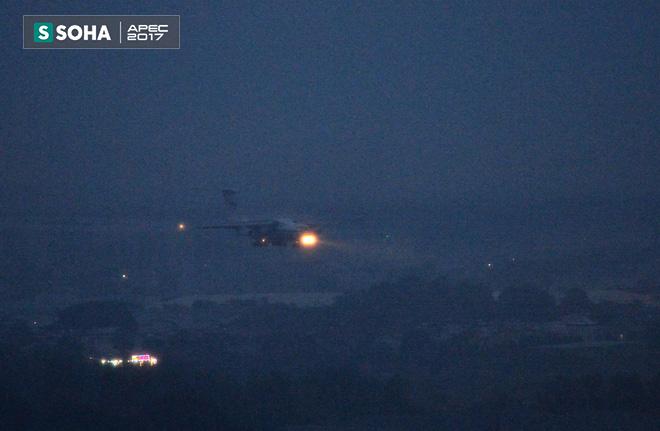 Ngựa thồ IL-76 của đoàn tiền trạm Tổng thống Nga đã đáp xuống Đà Nẵng - Ảnh 1.