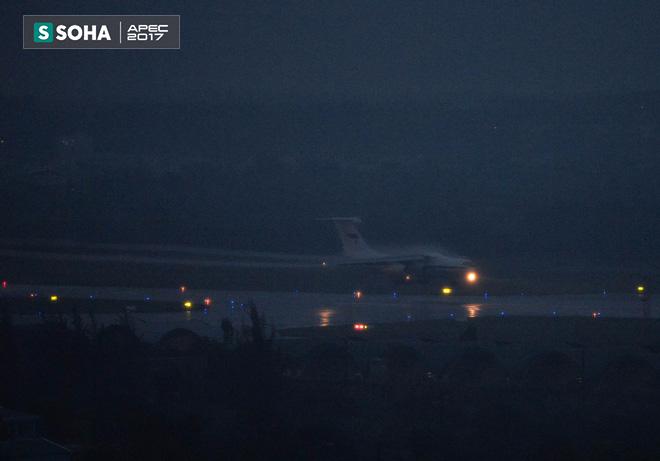 Ngựa thồ IL-76 của đoàn tiền trạm Tổng thống Nga đã đáp xuống Đà Nẵng - Ảnh 2.