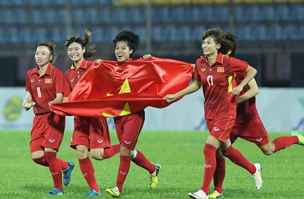 Vinh dự lớn cho tuyển nữ Việt Nam sau chiếc HCV SEA Games quý giá - Ảnh 1.