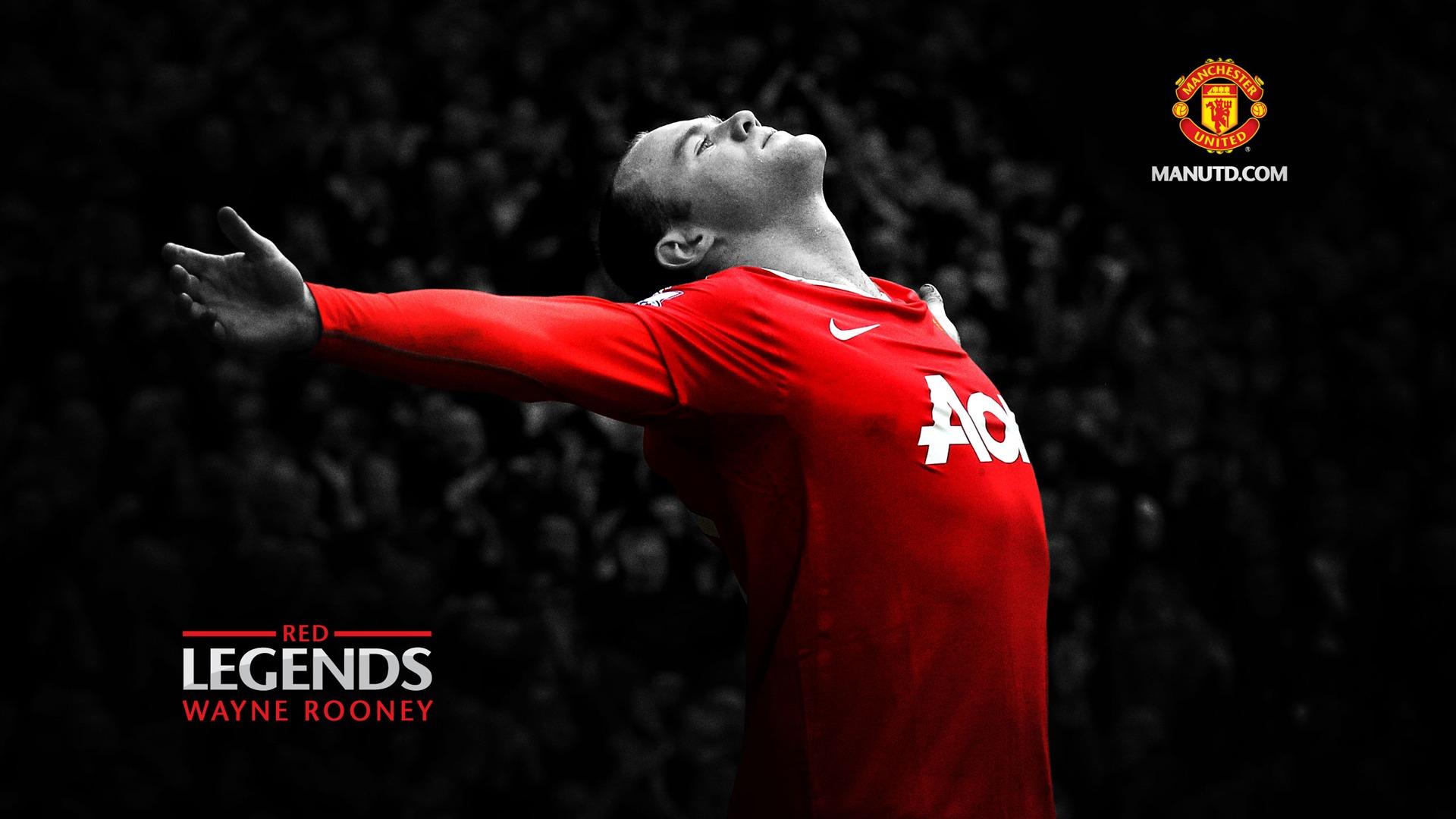Wayne Rooney - huyền thoại Manchester United