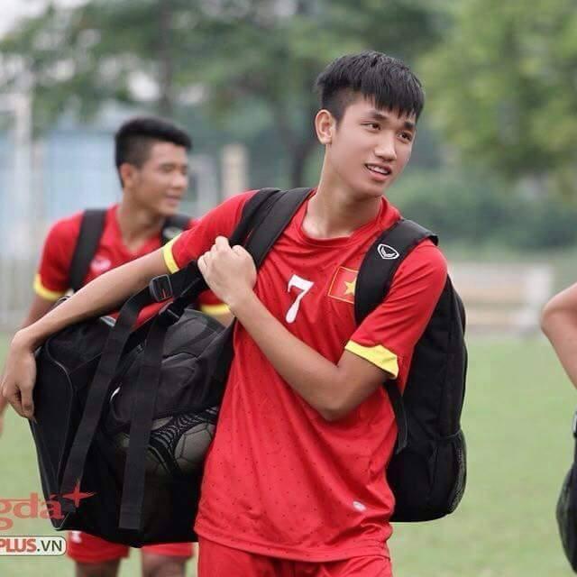 Đếm không hết hotboy của U23 Việt Nam, đây là Nguyễn Trọng Đại - chàng cầu thủ cao 1m84! - Ảnh 5.