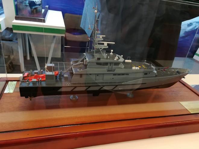 Ấn tượng Vietship 2018: Công nghiệp quốc phòng VN giới thiệu các mẫu tàu quân sự hiện đại - Ảnh 6.