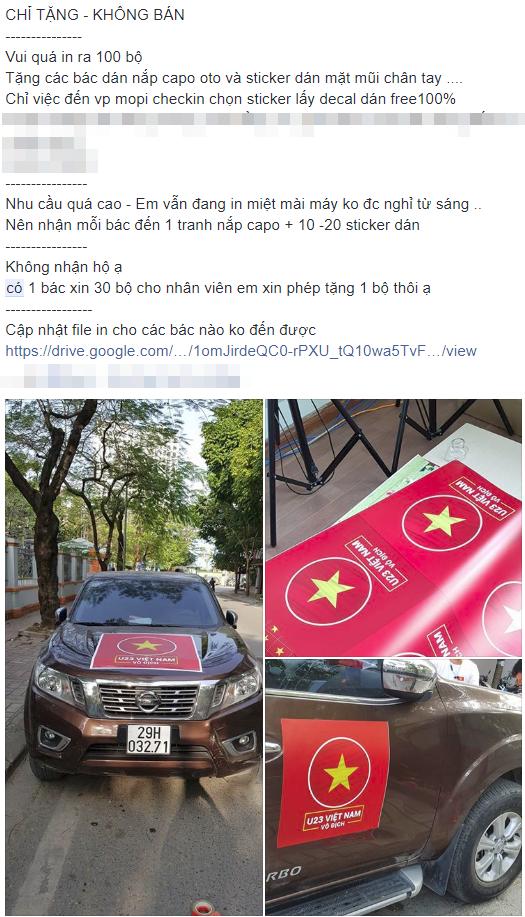 Cách chung kết 2 ngày, dân tình đã chuẩn bị sẵn sàng để bung lụa cùng U23 Việt Nam - Ảnh 5.