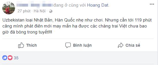 Sau trận chung kết U23 Châu Á, dân mạng Việt đăng trạng thái: Vất vả rồi, về đi các em! - Ảnh 4.