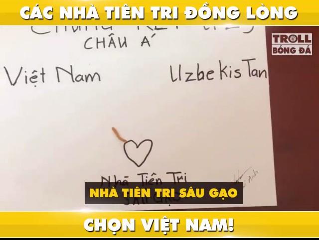 """Tổng tập những màn dự đoán siêu đáng yêu của các """"nhà tiên tri"""" tài ba về kết quả trận chung kết U23: Việt Nam giành chiến thắng! - Ảnh 7."""