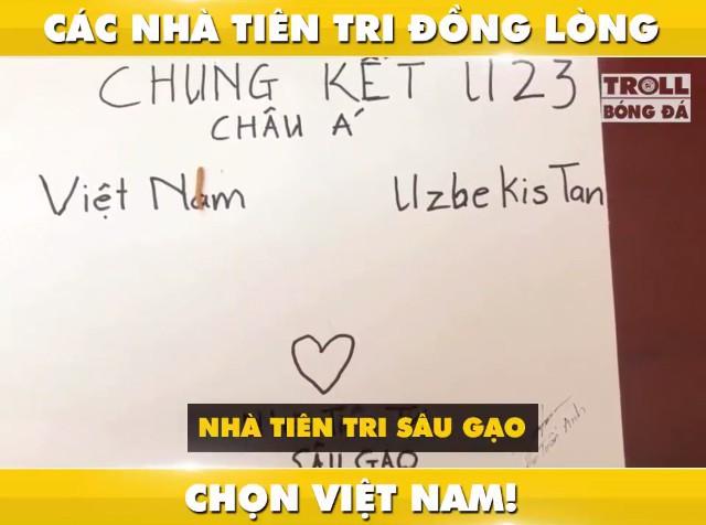 """Tổng tập những màn dự đoán siêu đáng yêu của các """"nhà tiên tri"""" tài ba về kết quả trận chung kết U23: Việt Nam giành chiến thắng! - Ảnh 8."""