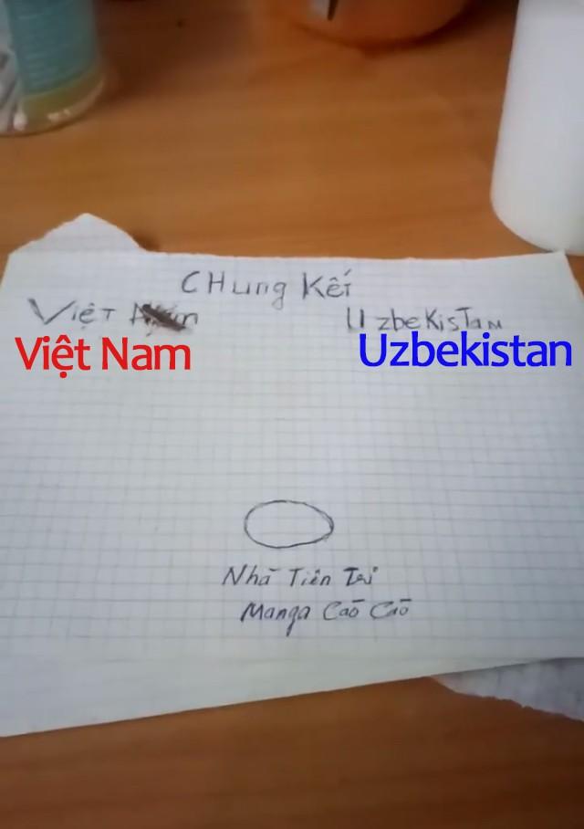 """Tổng tập những màn dự đoán siêu đáng yêu của các """"nhà tiên tri"""" tài ba về kết quả trận chung kết U23: Việt Nam giành chiến thắng! - Ảnh 9."""