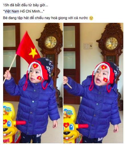 Mạng xã hội bắt đầu chia sẻ tràn ngập hình ảnh không khí cổ vũ U23 Việt Nam trước trận chung kết lịch sử - Ảnh 13.