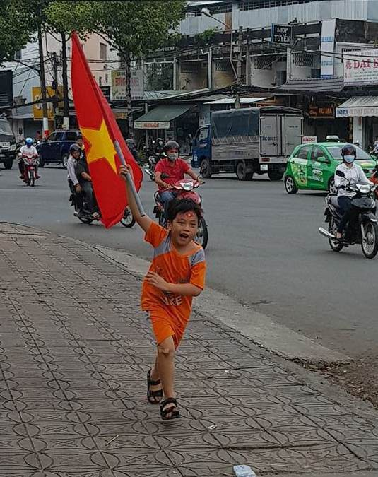 BOT Cần Thơ - Phụng Hiệp xả trạm để ủng hộ U23 Việt Nam - Ảnh 6.
