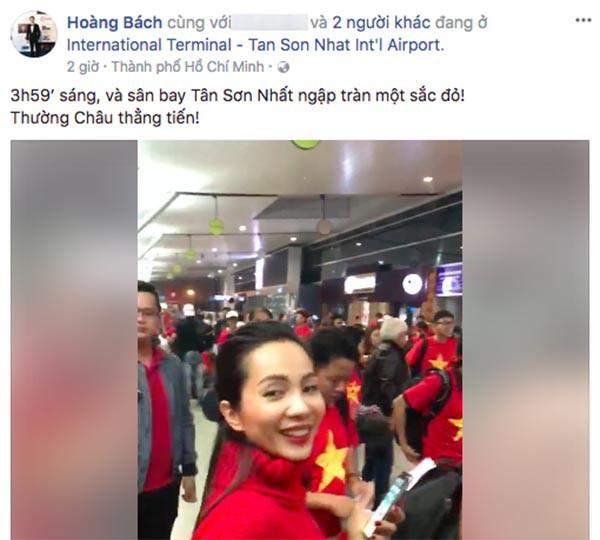 Sao Việt người bỏ show, người hào hứng sang Trung Quốc ủng hộ U23 Việt Nam - Ảnh 2.