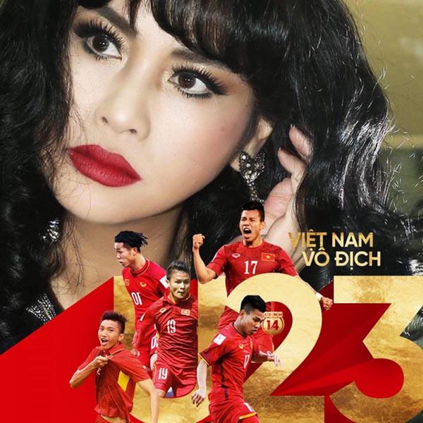 Sao Việt người bỏ show, người hào hứng sang Trung Quốc ủng hộ U23 Việt Nam - Ảnh 7.