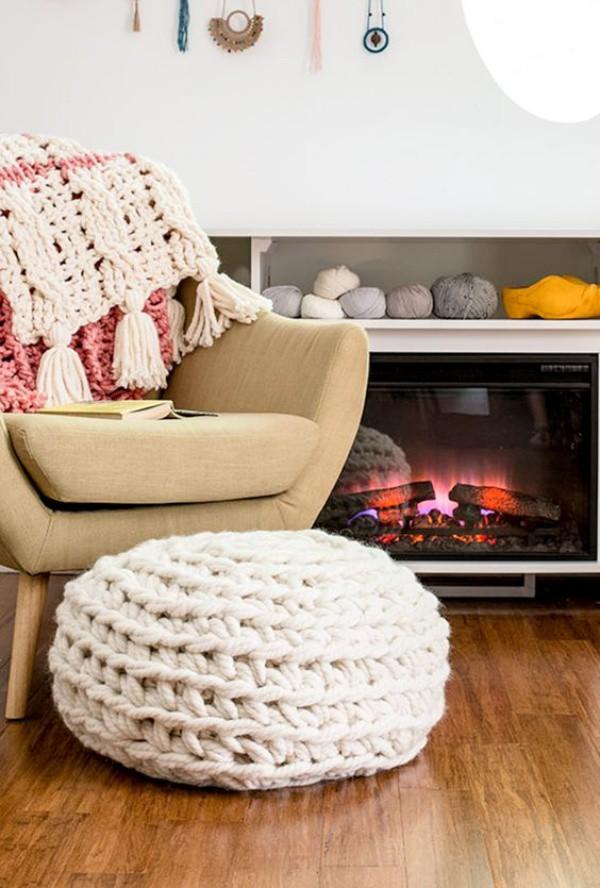 Những ý tưởng trang trí nhà bằng len cho không gian sống mùa đông vừa đẹp vừa ấm - Ảnh 12.