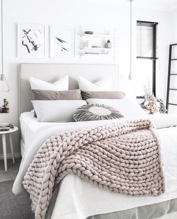 Những ý tưởng trang trí nhà bằng len cho không gian sống mùa đông vừa đẹp vừa ấm - Ảnh 4.