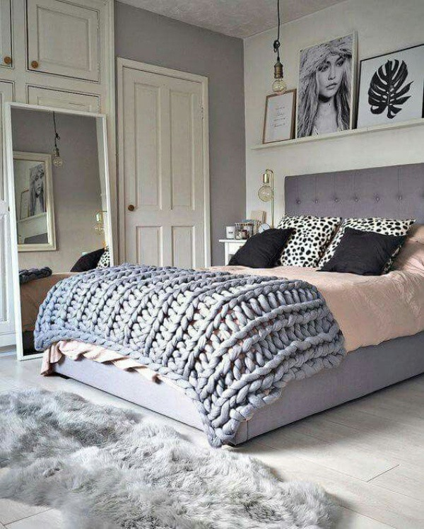 Những ý tưởng trang trí nhà bằng len cho không gian sống mùa đông vừa đẹp vừa ấm - Ảnh 5.