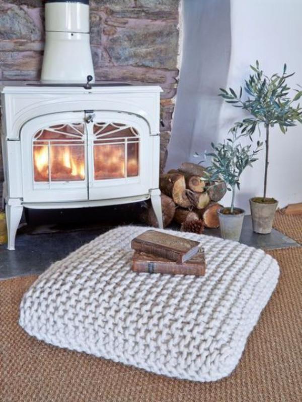 Những ý tưởng trang trí nhà bằng len cho không gian sống mùa đông vừa đẹp vừa ấm - Ảnh 8.