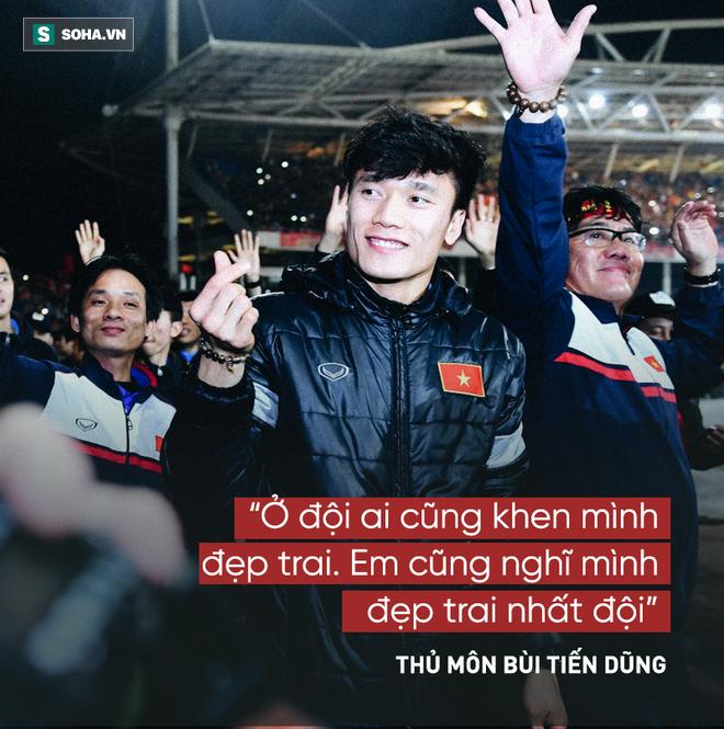 Các cầu thủ U23 Việt Nam và 14 câu nói khiến người hâm mộ xôn xao  - Ảnh 1.