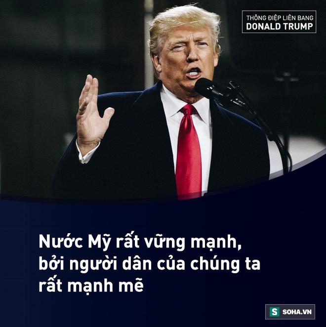 Toàn văn Thông điệp Liên bang đầu tiên trong nhiệm kỳ của tổng thống Mỹ Donald Trump - Ảnh 4.