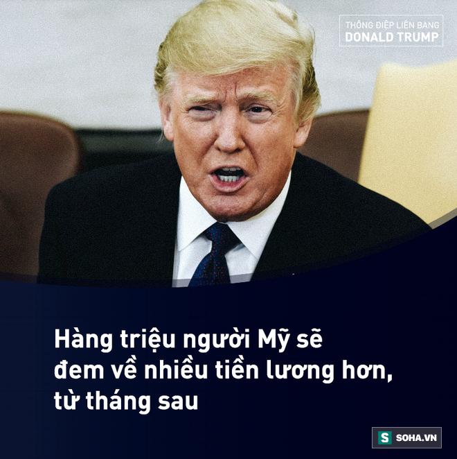 Toàn văn Thông điệp Liên bang đầu tiên trong nhiệm kỳ của tổng thống Mỹ Donald Trump - Ảnh 6.