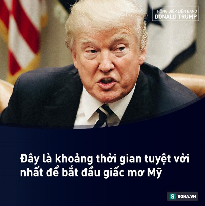 Toàn văn Thông điệp Liên bang đầu tiên trong nhiệm kỳ của tổng thống Mỹ Donald Trump - Ảnh 7.