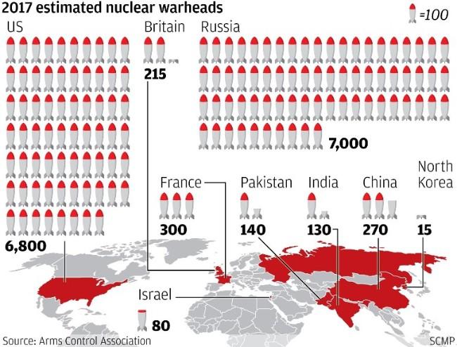 Trung Quốc đua vũ khí hạt nhân với Nga, Mỹ - Ảnh 1.