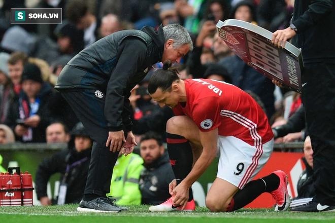 Zlatan Ibrahimovic sắp quay trở lại Old Trafford để giải cứu Mourinho? - Ảnh 1.