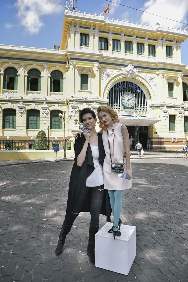 Cuộc sống của nữ người mẫu dìm hàng tất cả sao Việt khi chụp ảnh chung - Ảnh 9.