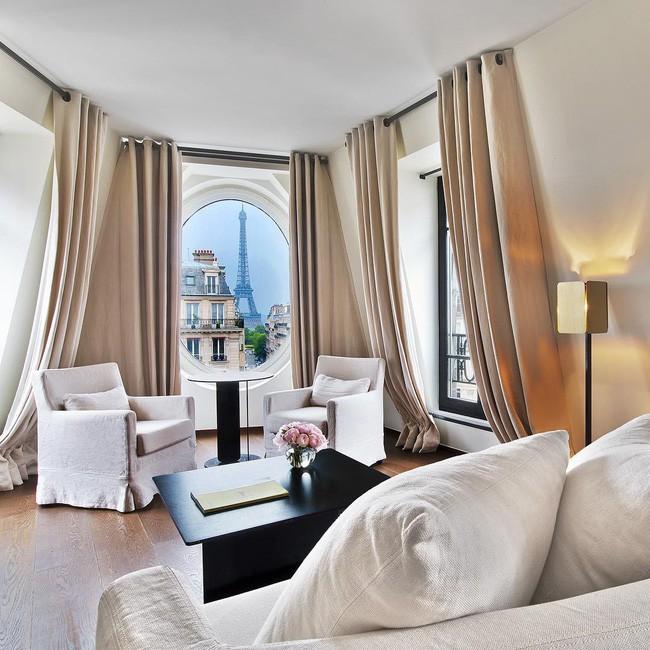 Căn phòng nơi Ngọc Trinh chụp ảnh ngưng đọng thời gian: Góc view đẹp nhất nhì Paris, phải đặt trước cả tháng - Ảnh 4.