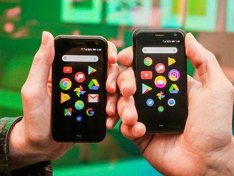 Huyền thoại Palm tái xuất với một chiếc điện thoại không thể nhỏ hơn - Ảnh 3.