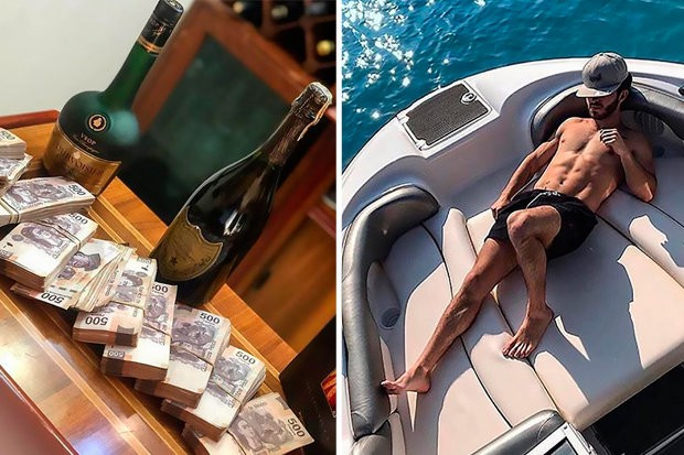 Hội con nhà giàu Mexico đua nhau khoe siêu xe, cả sấp tiền mặt cùng cảnh ăn chơi trên du thuyền - Ảnh 2.