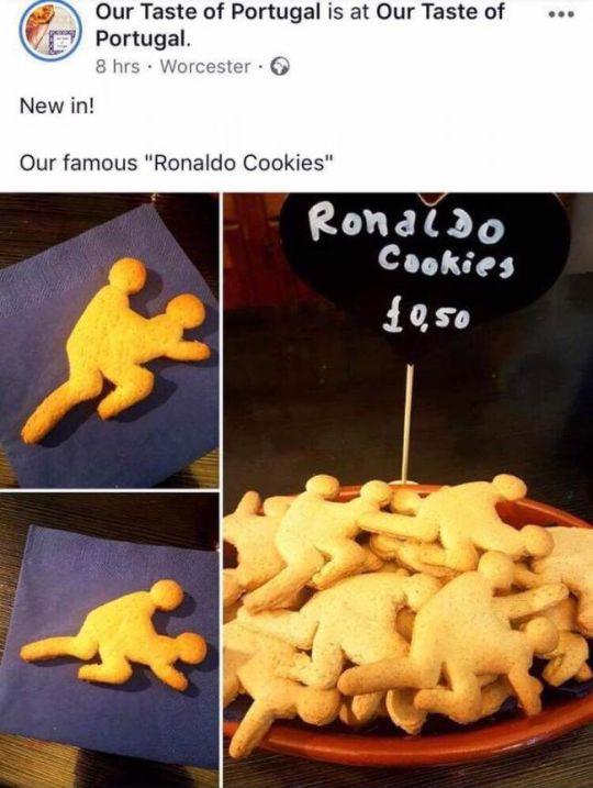 Bán bánh Ronaldo hiếp dâm, chủ quán cafe phải vội vàng xin lỗi - Ảnh 2.
