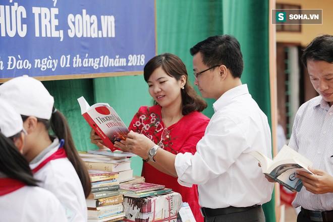 Thư viện vùng quê nghèo tiếp thêm động lực học tập suốt đời - Ảnh 2.