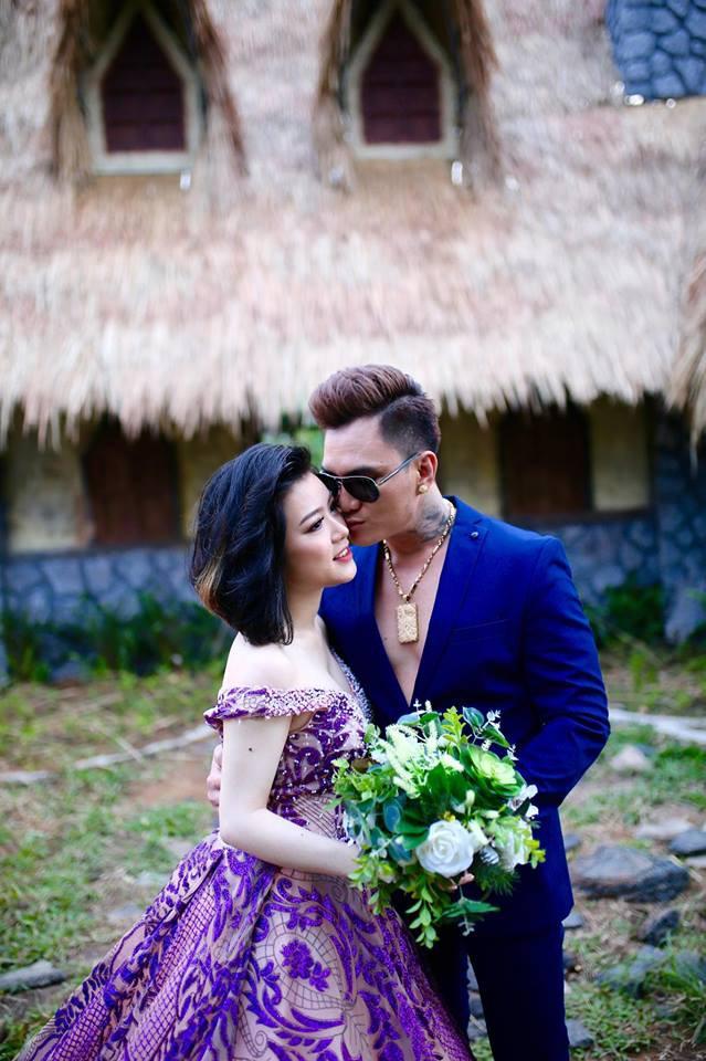 Nhan sắc vợ mới cưới, kém 12 tuổi của ca sĩ hội chợ Lâm Chấn Huy - Ảnh 2.