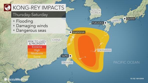 Thái Bình Dương xuất hiện 2 siêu bão quái vật: Nhật Bản lại oằn mình chống chọi bão mới - Ảnh 2.