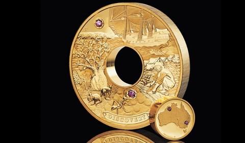 Chiêm ngưỡng đồng tiền vàng nạm kim cương trị giá 2,5 triệu USD - Ảnh 1.