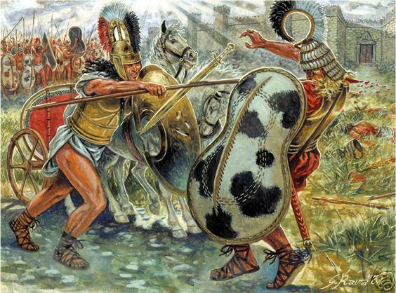 Góc nhìn khác từ cuộc chiến giữa Hector và Achilles: Khi nhà vua đối đầu đại tướng - Ảnh 5.